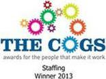 The Cogs Awards For the People that make it Work Staffing Winner 2013